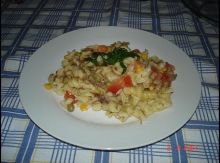 Salada de Macarrão com Carne