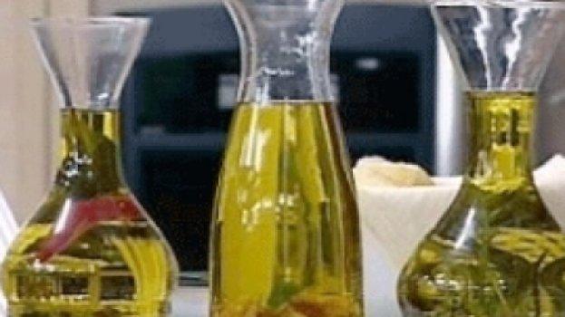 Azeites Especiais - Azeite com Alho e Alecrim