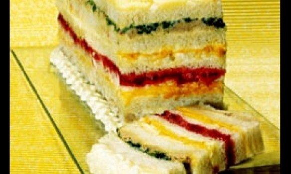 Sanduíche Tri - Colorido