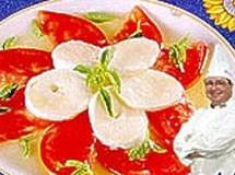 Salada Caprese do Chef Allan | Luiz Lapetina