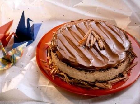 Torta Gelada de Chocolate Meio Amargo