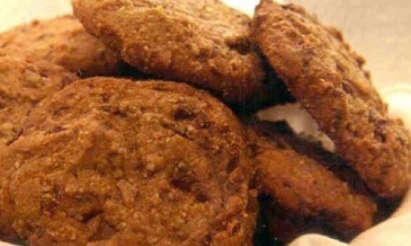 Cookies de Chocolate com Castanha de Cajú