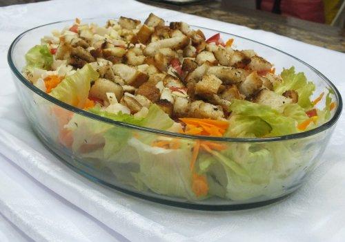 Salada de Palmito com Atum