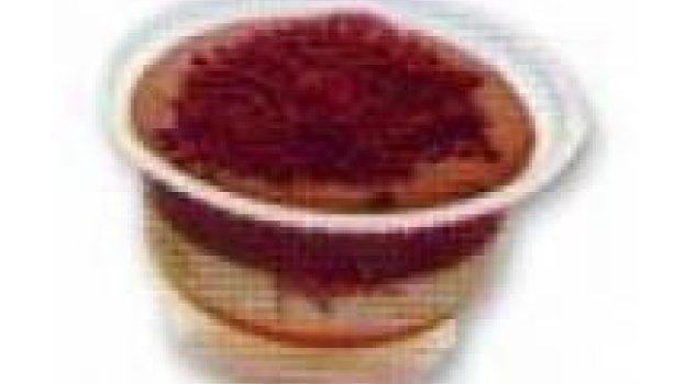 Mousse Bicolor de Chocolate Branco e Chocolate Meio Amargo