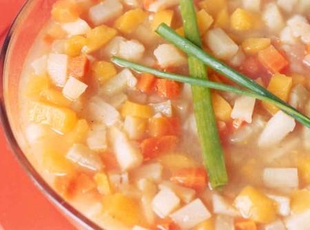 Sopa de Legumes para Microondas