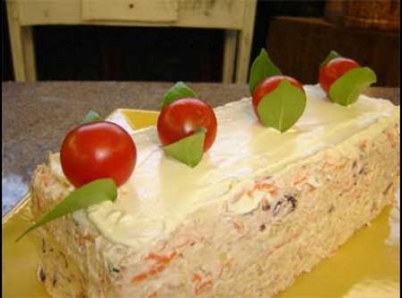 Torta Gelada de Atum