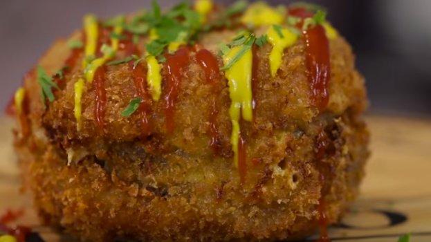 Hambúrguer Frito