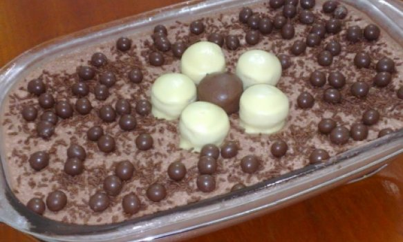 Estrogonofe de chocolate