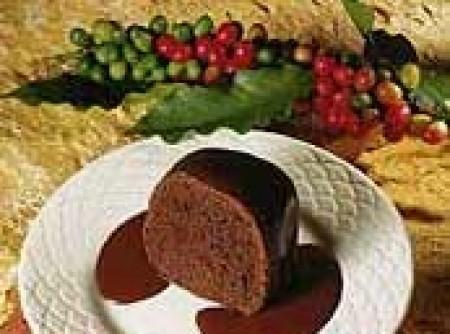 Bolo de Café com Chocolate Meio Amargo