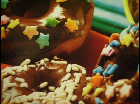 Donuts com Cobertura de Chocolate | André Martinelli Nobre