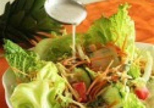 Salada Tropical com Coco e Abacaxi