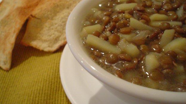 Sopa Lentilha com Batata