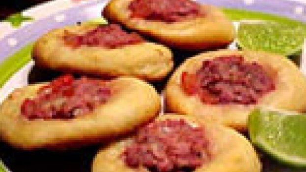 Esfihas Abertas de Carne