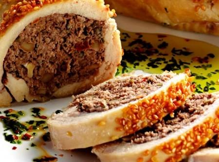 Peito de Frango Recheado com Carne Moída