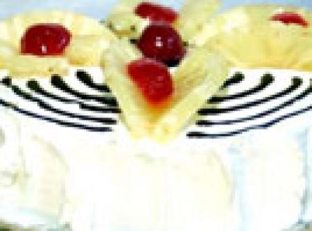 Torta de Abacaxi com Beijinho