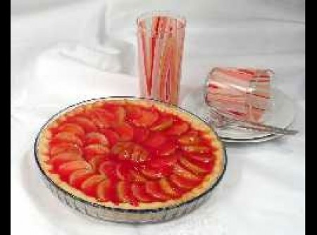 Torta de Maçã com Gelatina