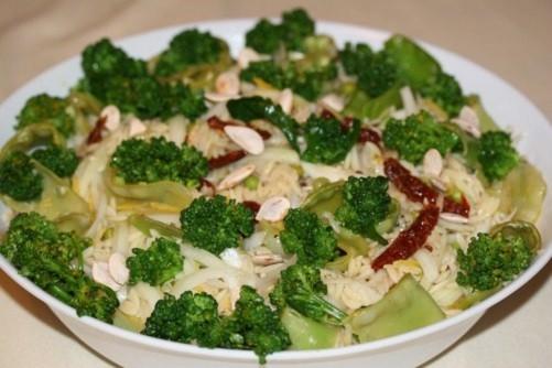 Risoni com Brócolis e Tomate Seco