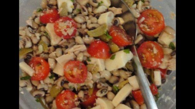Salada de Feijão Fradinho com Atum
