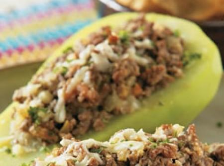 Chuchu com carne moída | Sibeli Cristina Melo