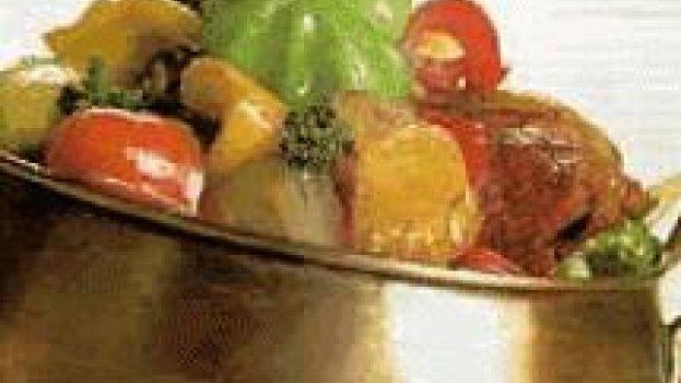 Alcatra com Laranja e Legumes