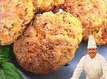 Biscuits de Tomate Seco e Parmesão