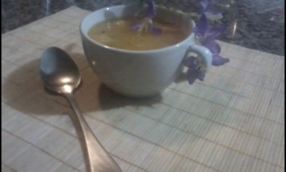 Sopa de Aipim (mandioca)