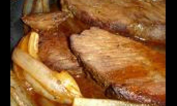 Picanha de forno com sal grosso