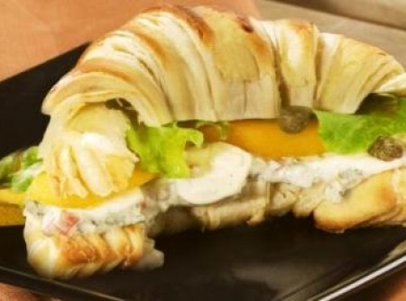 croissant com gorgonzola do chef | Ana Beatriz Andrade Marques