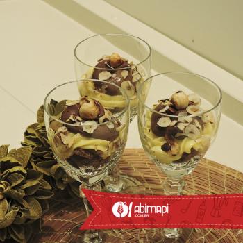 Taça de Biscoito de Chocolate | Abima Associação Brasileira Massas Alimen