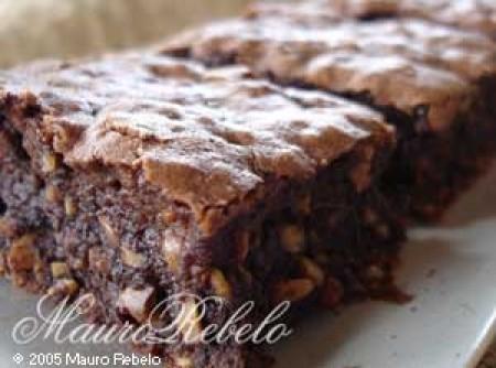 Receita Americana de Brownie