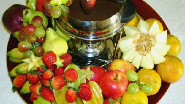 Fondue de Chocolate com Cachaça