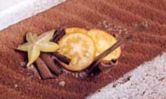 Sorvete de Castanhas c/ Cobertura de Chocolate