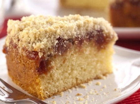 Torta de Goiabada com Farofa