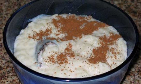 Arroz Doce Vegetariano