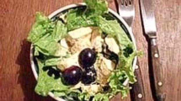Salada de Frango com Especiarias
