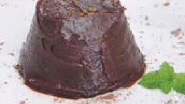 Mini Bolo Cremoso de Chocolate