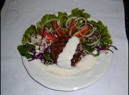 Hambúrguer de Soja com Carne