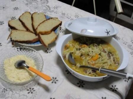 Sopa da Vó Polaca