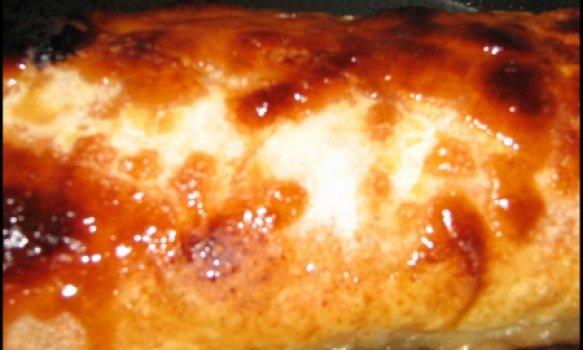 Torta de Maçã com Geleia de Brilho