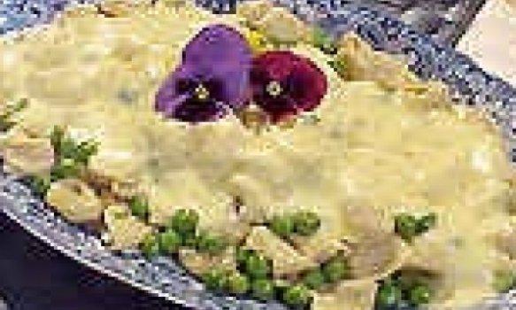 Tortellini com zabaione
