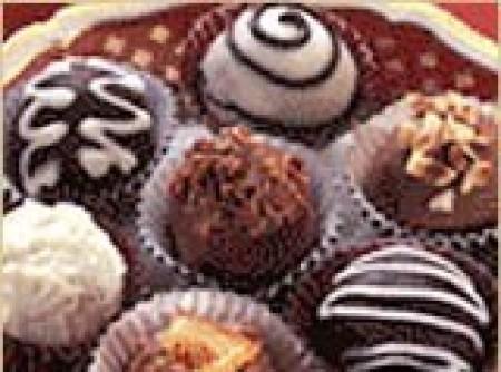 Trufas de chocolate) | ERICA SIMONE