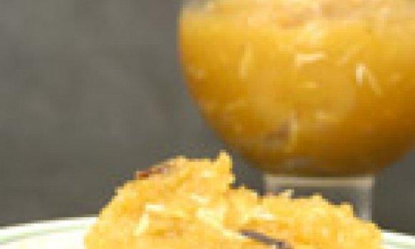 Doce de abóbora com coco