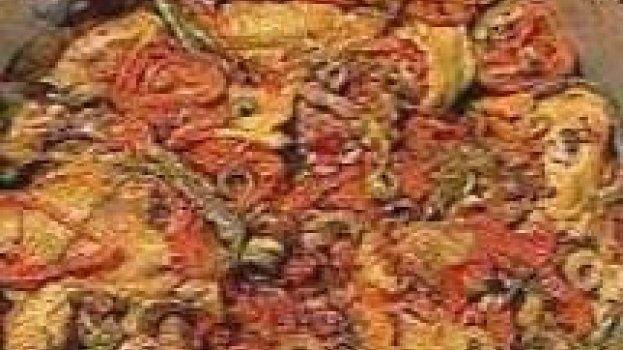 Frango à Espanhola com Brócolis