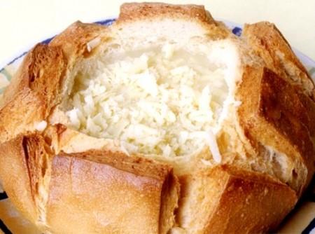 sopa de cebola no creme de mandioquinha(batata salsa)