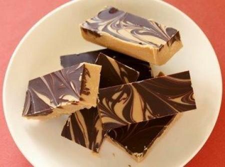 Barrinhas de Chocolate com Manteiga de Amendoim