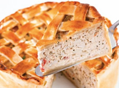 Torta de Frango com creme de Palmito | CyberCook