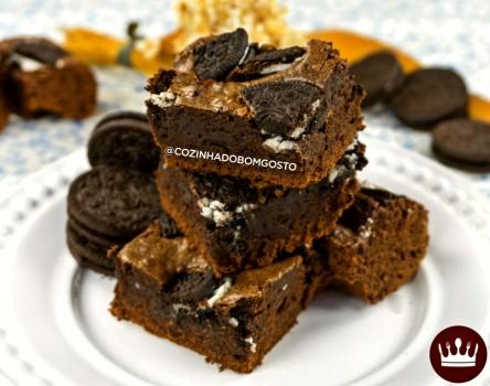 Brownie de Oreo | Lívia