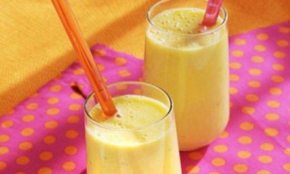 Milk Shake Refrescante de Maracujá e Limão