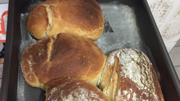 Pão Caseiro Sem Leite e Ovos