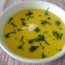 Sopa Creme de Mandioquinha com Músculo